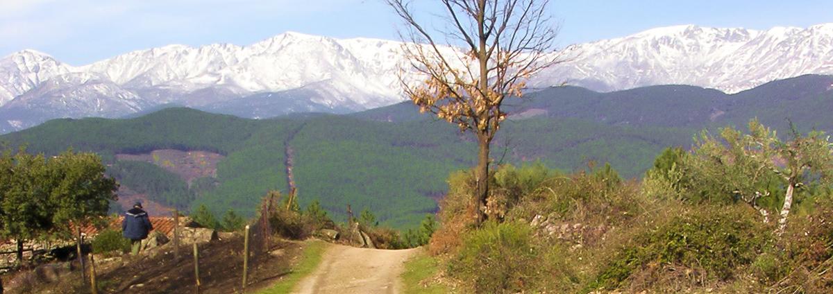Panorámica de Santa Cruz del Valle